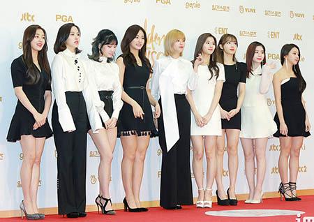 트와이스, 1월 걸그룹 브랜드평판 4개월 연속 1위! 3위 오마이걸, 25계단↑