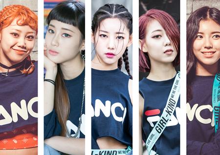 '힙합 걸그룹' 걸카인드, 오늘 'FANCI' 음원 공개+<쇼! 챔피언> 정식 데뷔