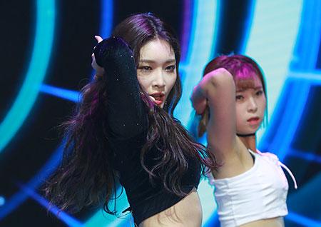 [포토] 청하, 그뤠잇한 댄스 퍼포먼스