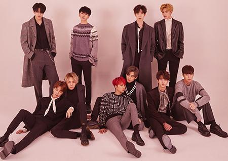 펜타곤, 日 두 번째 미니앨범 'VIOLET' 오리콘 3위 기록.. 新한류돌