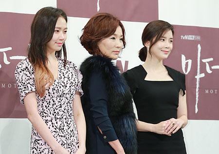 [포토] <마더> 고성희-이혜영-이보영, 드라마를 빛낼 세 배우들