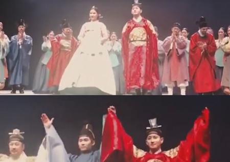 """블락비 비범, 연극배우로 데뷔! """"<여도> 첫 공연 무사히 잘 마쳤습니다"""""""