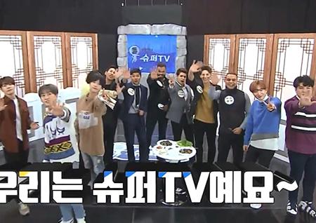 """'슈퍼TV' """"한국어로 하니 박빙"""" 슈퍼주니어, 외국인과 한국어 퀴즈 '흥미진진'"""
