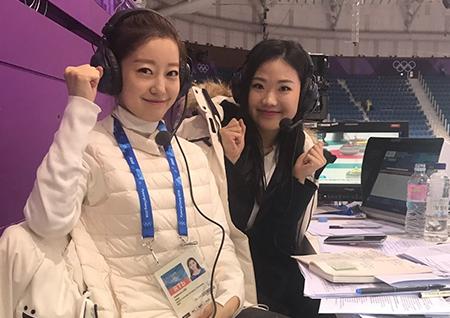 '갓상미'부터 '피겨 자매'까지 MBC 평창올림픽 중계진의 돋보이는 우먼파워!