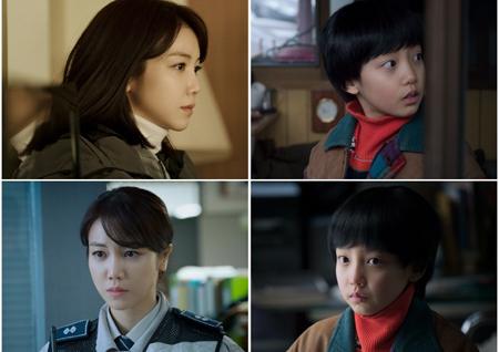 '작은 신의 아이들' 김옥빈-아역 한서진, 싱크로율 100% 비주얼 공개