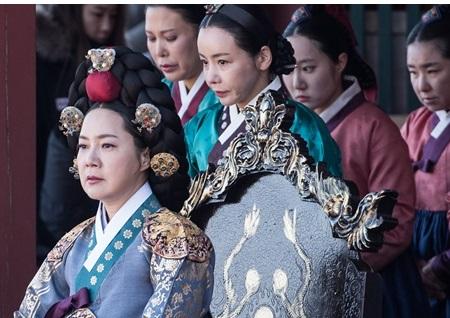 '대군-사랑을 그리다' 양미경-김미경-이연경-신이, 명품 여배우들의 핏빛 '궁중 암투' 예고