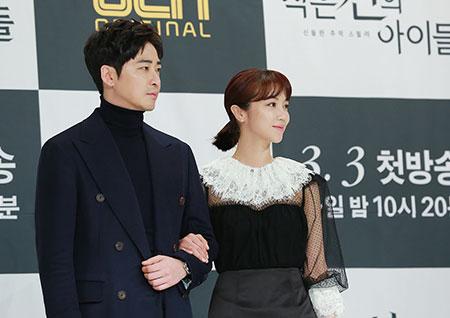 [포토] '작은 신의 아이들' 강지환-김옥빈, 기대되는 형사케미