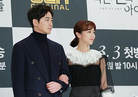 """'작은 신의 아이들' 김옥빈 """"강지환, 현장에서 사랑스럽고 귀여워"""""""