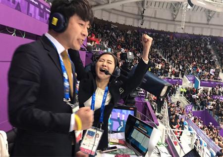 '평창올림픽' 쇼트트랙 안상미-허일후 콤비 호평! '황금데이'에 쏠리는 기대