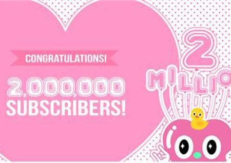 ALL THE K-POP 유튜브 채널 구독자 200만 돌파!