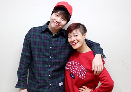 """'개콘' '구린라이트' 정승환-김혜선, """"둘이 결혼하라는 댓글 봤다"""""""