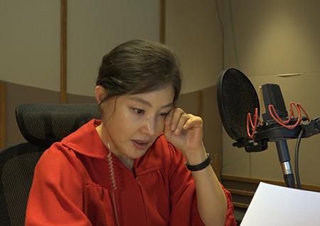 """'휴먼다큐 사랑' 박지영, 내레이션 녹음 도중 눈물 왈칵! """"따뜻하고도 슬픈 이야기"""""""