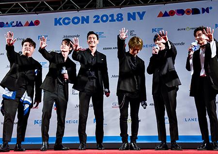 'KCON 2018 NY' 슈퍼주니어-레드벨벳-펜타곤-스트레이키즈-헤이즈, 뉴욕 빛낸 ★들