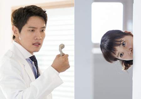 '사생결단 로맨스' 이시영, '호르몬 스토커'로 변신! 지현우 염탐 현장 포착