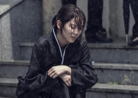 '시간' 서현, 상복 입고 폭풍 오열! 물오른 '감정 연기' 눈길