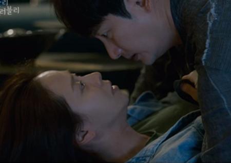 '러블리 호러블리' 박시후X송지효, 본격 운명 셰어 로맨스 시작 '뜨거운 반응'