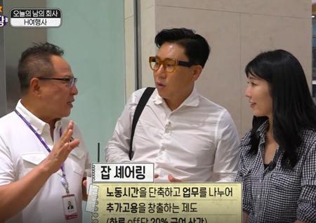 """'구내식당' 이상민-사유리, 임원 등장에 넙죽 절··· 부회장, """"월급 40%만 받는다"""""""