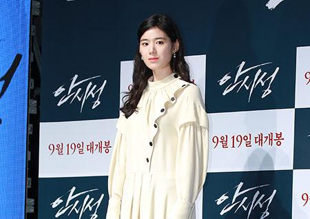 [포토] '안시성' 정은채, 묘한 매력의 배우