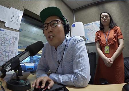 '구내식당' 김영철, 생방송으로 유느님 유재석과 대결 도전?