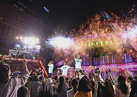 'DMCF 2018' DJ DOC-빅스-청하 한 자리에... 'A.M.N.빅콘서트' 오늘 밤 11시 55분 방송