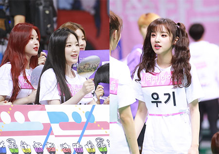 [PICK아이돌] '추석특집 2018 아육대' 카메라 밖의 아이돌은? #(여자)아이들
