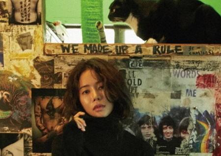 '사생결단 로맨스' 활약 정해나, 매혹적인 눈빛과 성숙한 여인의 아름다움...'고혹 화보' 공개