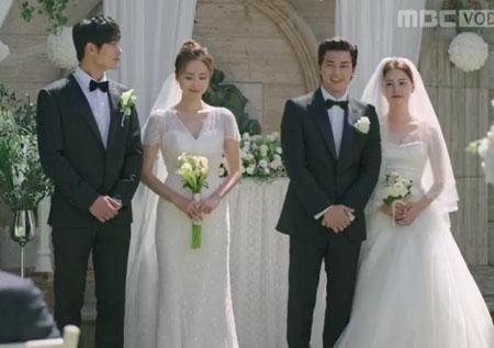 '부잣집 아들' '축! 결혼' 홍수현-이창엽 커플&김지훈-김주현 커플