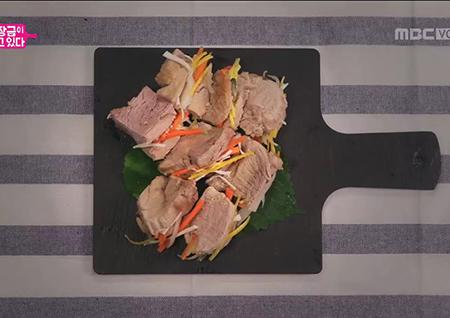 한정식 스페셜 요리 '겨자선 샌드위치'