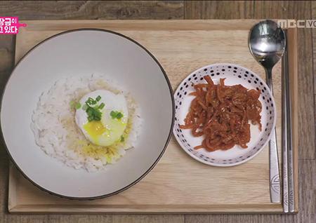 마성의 '버터 간장 계란밥' 만들기