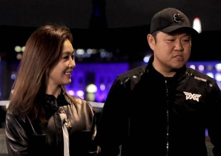 '토크 노마드' 옥주현, 김구라-이동진과 영화 '이프온리' 템스강 명장면 재연