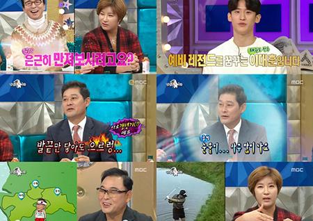 '라디오스타' 실검은 이대훈, 최고시청률은 이봉주! 대박 선수들의 대박 행진