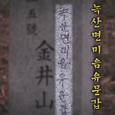 '실화탐사대' 부산 금정산의 의문의 문구 '녹.산.면.미.음.유.문.갑'