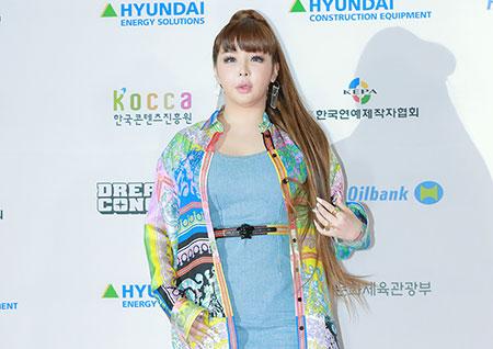 [포토] 박봄, 톡톡 튀는 화려한 스타일