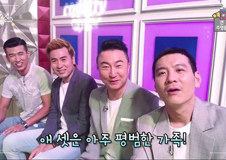 [셀프캠] '라디오스타' 션-김병지-주영훈-정성호, 다둥이 아빠들의 현실 육아 토크!