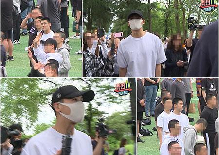 """'섹션TV' 아기병사→진짜 사나이 박형식, 입대 현장 공개 """"충성!"""""""