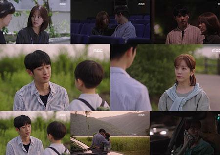 """'봄밤' 정해인, """"나 없는데서 혼자 울지 말아요"""" 한지민과 뭉클한 결혼 약속"""