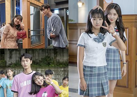 '어쩌다 발견한 하루' 김혜윤-로운-이재욱, 청춘 배우들의 꽁냥꽁냥 비하인드 컷