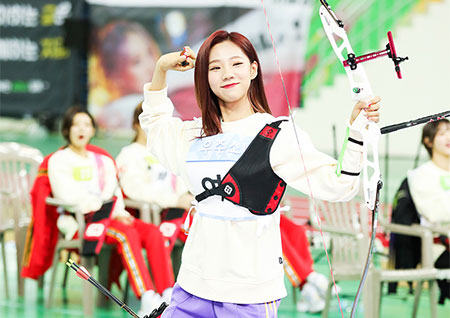 [독점] '2020 설특집 아육대' 우주소녀 다영-여름, 귀여움 치사량 (움짤 B하인드)