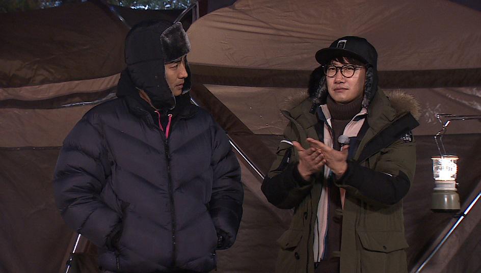 <아찔한 캠핑> 조우종, 정준하 퉁명스러운 반응에 '눈물 글썽' 무슨 일?