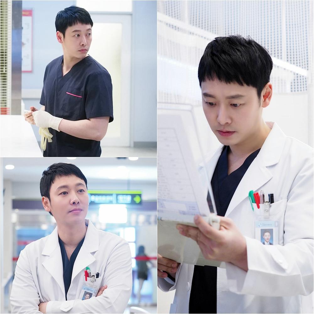 <자체발광 오피스> 김동욱, 응급실 훈남의사 변신 '포스 가득'