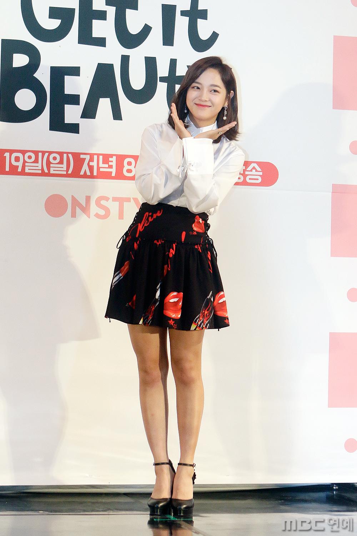 """[비하인드] <겟잇뷰티 2017> 김세정 """"기초 메이크업 모르는게 이정도~"""""""