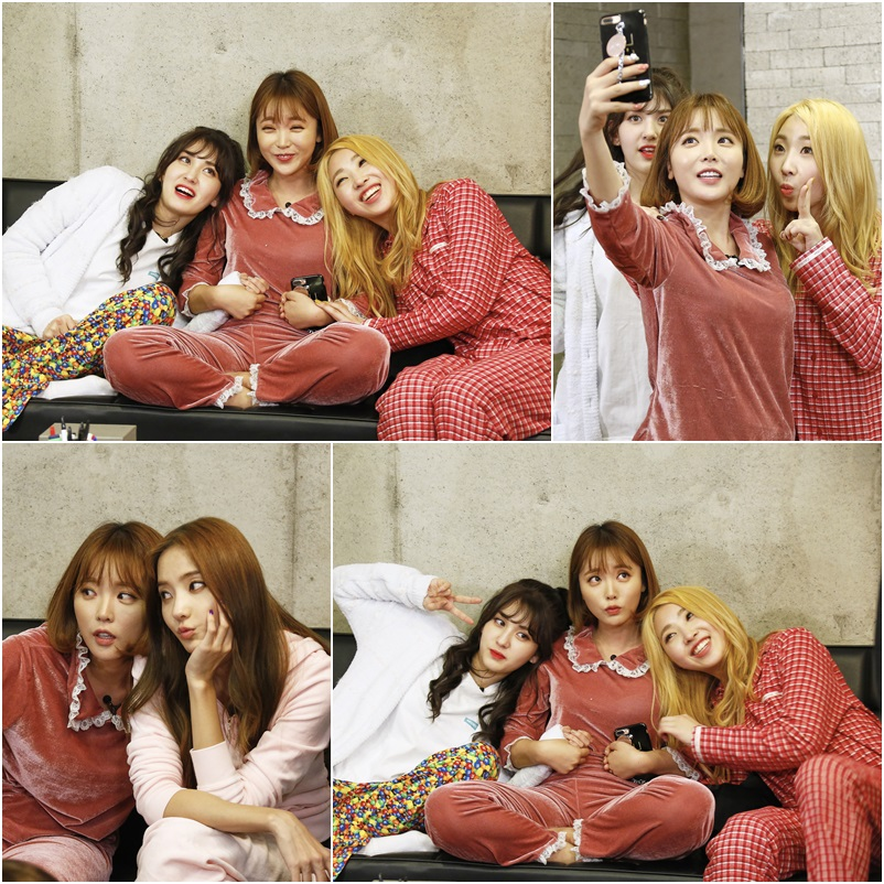 <언니들의 슬램덩크 2> 합숙 기념 '파자마 인증샷' 비하인드 공개