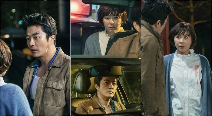 <추리의 여왕> '추리퀸' 최강희-'수사왕' 권상우, 위험천만 첫만남!