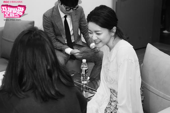 [단독 비하인드] '러블리 그자체!' <자체발광 오피스> 제작발표회 대기실 현장