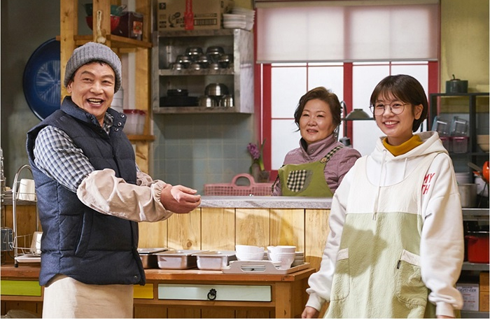 <아버지가 이상해> 김영철-김해숙-정소민, '단란한 현장'