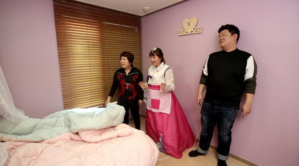 <최고의 사랑> 이수지, 유민상 어머니와 첫 만남 '긴장'