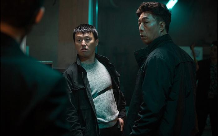 <추리의 여왕> 안길강-김민재, 카리스마 가득 '현실 형사 포스'