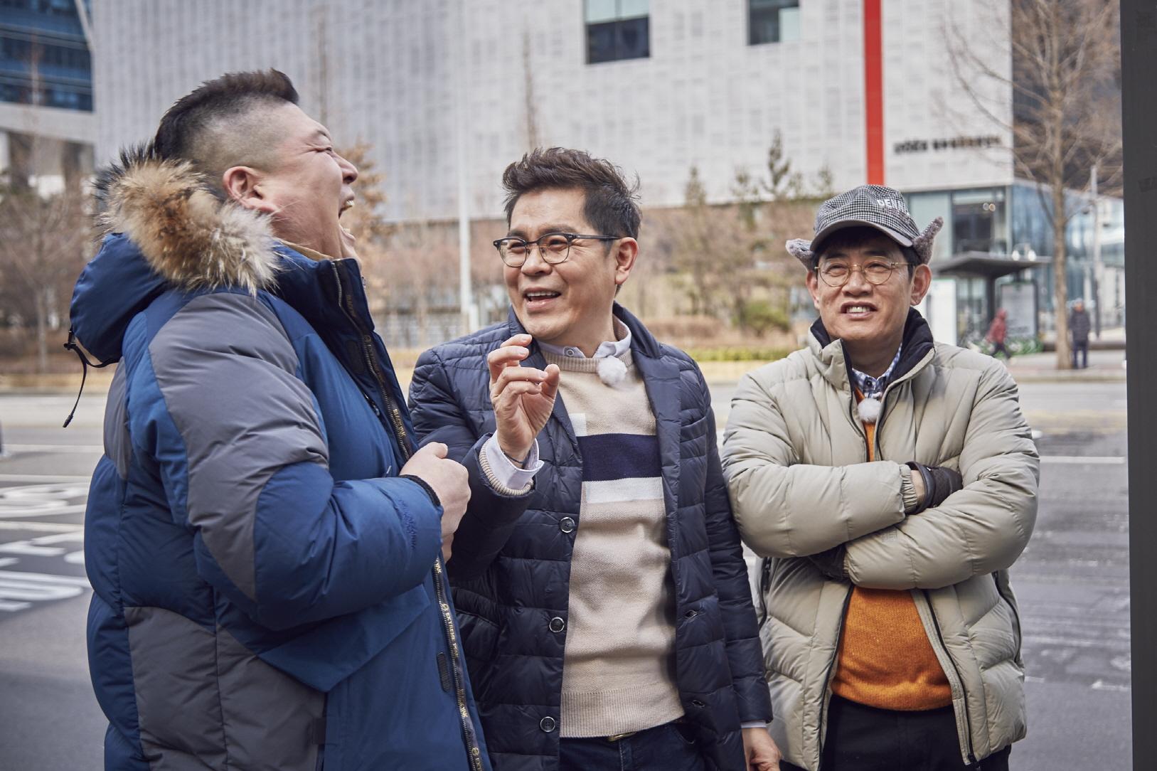<한끼줍쇼> 이경규-강호동 '옛날 개그맨' 김용만 등장에 환호