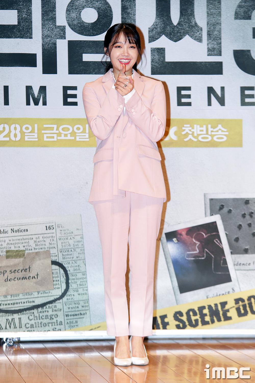 [포토] <크라임씬3> 정은지, '인간 벚꽃'