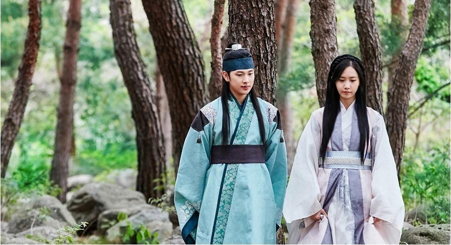 <왕은 사랑한다> 임시완-임윤아, '선남선녀의 오솔길 데이트' 이미지-2